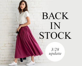 BACK IN STOCK 5/25 update