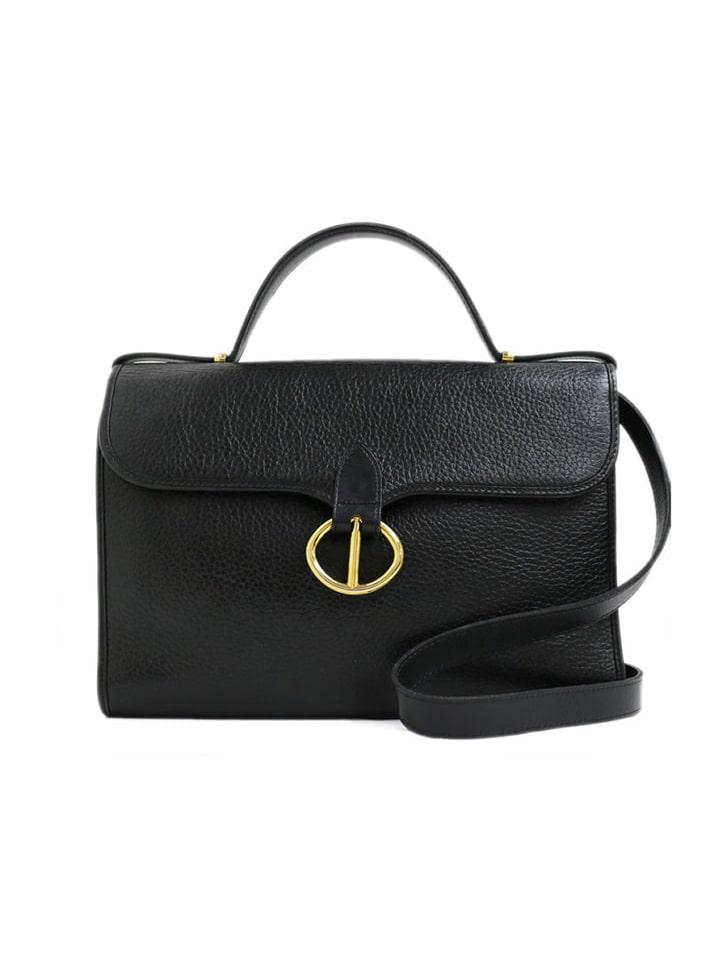 【fifth/フィフス】【Dior】ゴールド金具型押しレザー2WAYショルダーバッグ