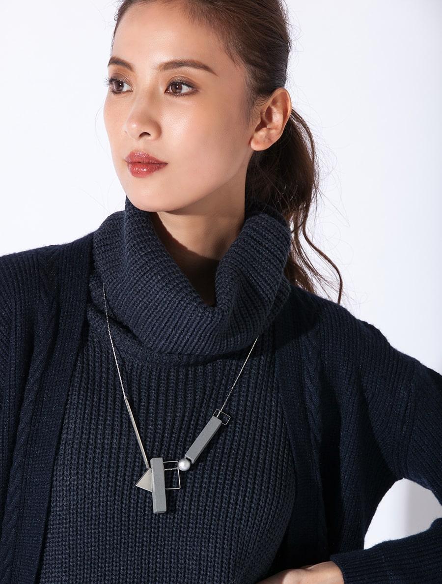 【fifth/フィフス】ミックスデザインネックレス