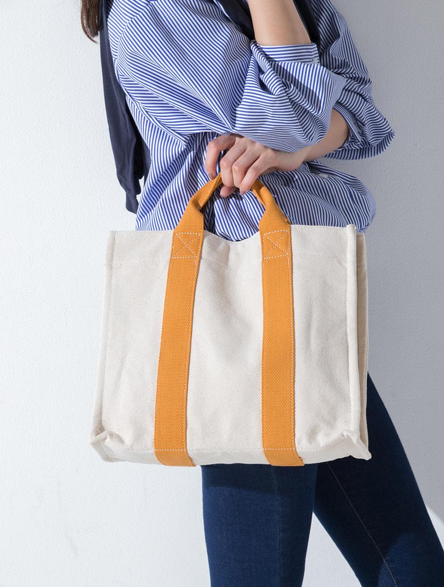 【fifth/フィフス】キャンバスカラー2wayトートバッグ