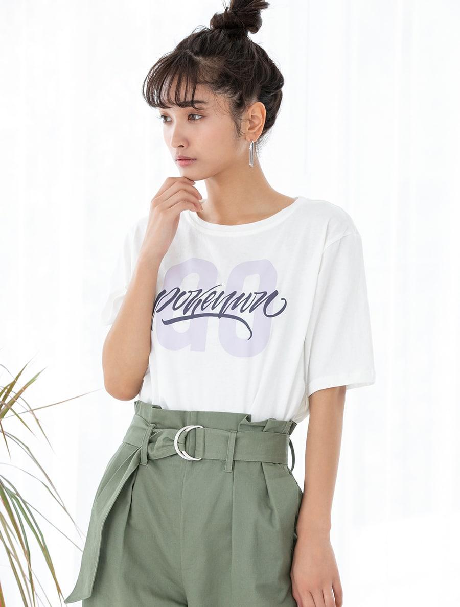 【fifth/フィフス】クルーネックロゴTシャツ