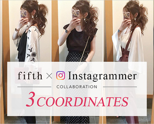 Instagrammer Collabo 3 Coorde