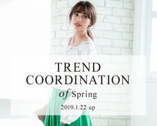 TREND COORDINATION of Spring
