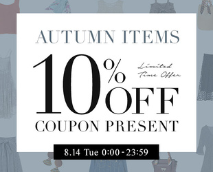 10%OFF COUPON × 2