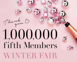 1,000,000 fifth Members WINTER FAIR