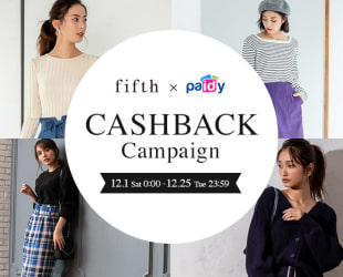 Paidy CASHBACK CAMPAIGN