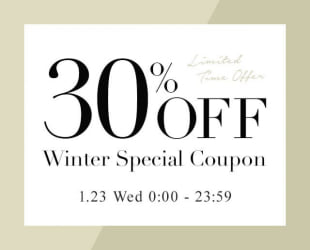 30%OFF SPECIAL COUPON!