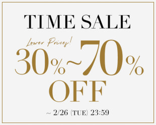 MAX70%OFF TIME SALE
