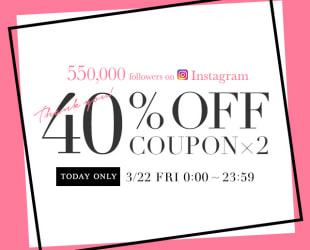 40%OFF COUPON