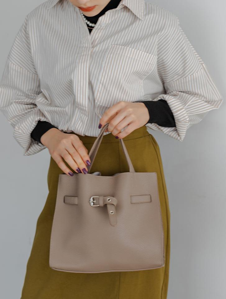 【fifth/フィフス】ベルトデザインハンドバッグ